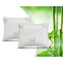 wholesale Cushions & Blankets: 2Pack Bamboo Memory Foam Pillow White 50 x 60 Whit