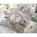 wholesale Home & Living: Wood Deer Taupe 200 x 220 Taupe