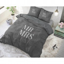 wholesale Home & Living: Mr and Mrs Elegant Anthracite 240 x 220 Anthracite