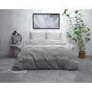 ST FL Stone Stripe Grey 200 x 220 Grey