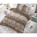 wholesale Bedlinen & Mattresses: Panther Feel Taupe 240 x 220 Taupe