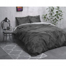 Beauty Double Face Grey / Anthracite 240 x 220 Gre