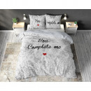 groothandel Home & Living: You Complete Me White 200 x 220 Wit