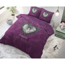 Romance Heart Purple 200 x 220 Purple