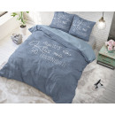 wholesale Home & Living: Always Kiss me Blue 240 x 220 Blue