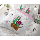 Love your Cactus White 140 x 220 White