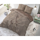 wholesale furniture: Mr and Mrs Knitted Taupe 140 x 220 Taupe