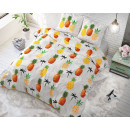 groothandel Home & Living: Pineapple White 200 x 220 Wit