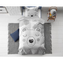 Sweet Bear Gray 140 x 200 Gray