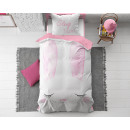 groothandel Home & Living: Cute Bunny Pink 140 x 200 Roze
