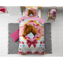 wholesale Home & Living: Cute Horse Pink 140 x 200 Pink