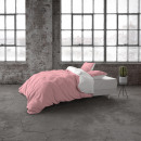 Two Tone Pink / White 140 x 220 Pink