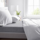 Bed Sheet flannel 150g. Gray 260 x 250 Gray