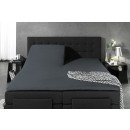 Split Topper Duo Fitted Sheet Anthracite 160 x 200
