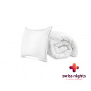 Pack 1 Duvert + 1 Pillow 140 x 200 White