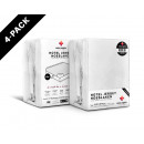 Fitted Sheet 4 pack Hotel Jersey White 160/180 x 2