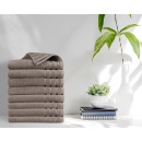 towel 8pack 500gsm Taupe 50 x 100 Taupe