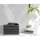 wholesale Bath & Towelling: towel 4pack 500gsm Anthracite 70 x 140 Anthracite