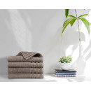wholesale Bath & Towelling: towel 4pack 500gsm Taupe 70 x 140 Taupe