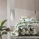 Bedspread Botanical White 180 x 250 White