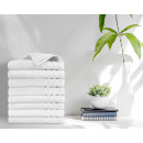 wholesale Bath & Towelling: towel 8pack 500gsm White 50 x 100 White