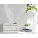 wholesale Bath & Towelling: towel 4pack 500gsm White 70 x 140 White