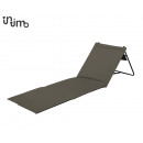 Beach mat Foldable (2 pack) Gray 100 x 51 x 41 Gri