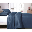 Satin Point Navy 140 x 220 Dark Blue