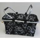 Großhandel Taschen & Reiseartikel: Einkaufs-Kühlkorb  LUXUS - Blume 4 4 Farben