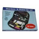 wholesale Drugstore & Beauty: Make Up / Manicure Set, 18 Piece