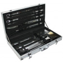wholesale Garden & DIY store: Barbecue barbeque set in a case 10tlg.