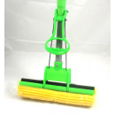 wholesale Cleaning: Mop telescopic  pole Saugschwamm 116cm - green