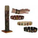 Großhandel Schmuck & Uhren: Armband - Christen - Holz