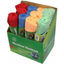 wholesale Cleaning: Microfiber cloth 35x40 cm in stand