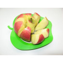 groothandel Kunstbloemen: Apple Cutter - Groen / Rood