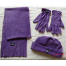 wholesale Gloves:Hat scarf glove Damenset