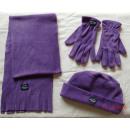 Großhandel Handschuhe: Mütze Schal  Handschuh Damenset - RP