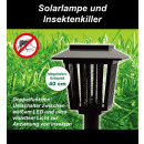 Insect killer and solar lamp 56 cm RP