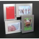 groothandel Foto's & lijsten: Picture Frame - 4 foto's - 3D ALU