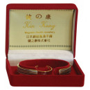Magnetic bracelet  with ring - in elegant gift box
