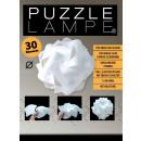 Puzzle Lamp - XL - dans une boîte cadeau avec câbl