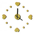 grossiste Farces et attrapes: DO-IT-YOURSELF -  Horloge murale - Coeur
