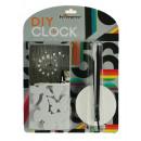 groothandel Klokken & wekkers: DOE-HET-ZELF -  Wall Clock - witte vlinder