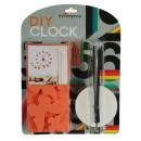 groothandel Klokken & wekkers: DOE-HET-ZELF -  Wall Clock - Red Butterfly