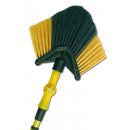 wholesale Houshold & Kitchen: Telescopic broom  triangle - green - SP