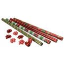 grossiste Emballage cadeau:Gift Wrap Set 12pcs.