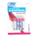 grossiste Batteries et piles: Grundig 4pcs R03 piles AAA. - NOUVEAU