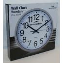 grossiste Horloges & Reveils: Horloge murale  25cm - 2 versions différentes