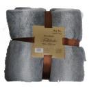 Großhandel Kissen & Decken: Felldecke groß 150 x 200 cm RP