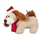 Perro de peluche - Navidad - canto